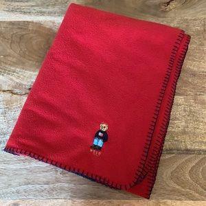 Lauren Ralph Lauren Polo Bear Fleece Blanket